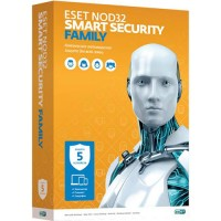 Антивирус ESET NOD32 Smart Security Family 5-ПК (1-год)