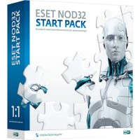 Антивирус ESET NOD32 Start Pack 1-ПК (1-год)