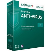 Антивирус Kaspersky ANTI-VIRUS 2-ПК (1-год)